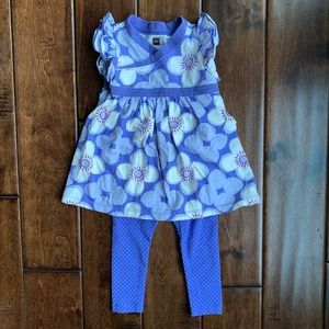 Tea collection baby girl outfit
